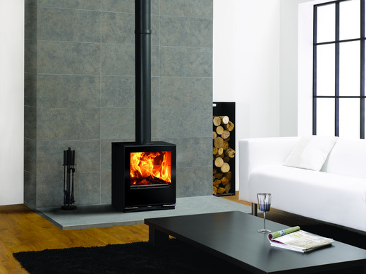Contemporary Freestanding Stove Stove Fires Glasgow