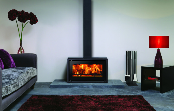 Contemporary Wood Burner Wood Burners Glasgow