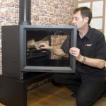 Stove World Glasgow Free Survey Visit with Stove Fire Glasgow Scotland