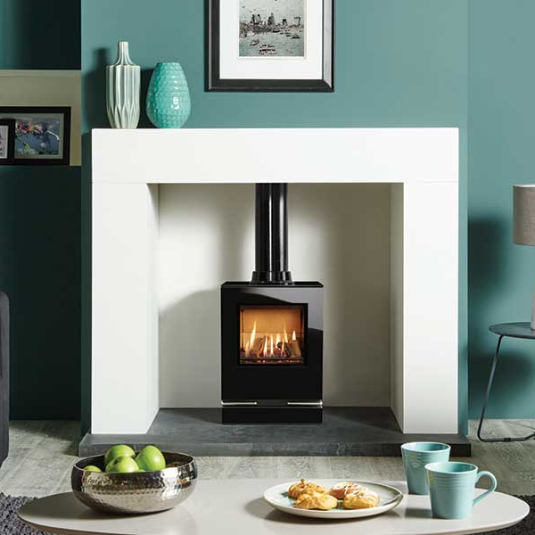 Stove World Product Range - Gas Stoves Glasgow - Gazco Riva Vision Gas Stove