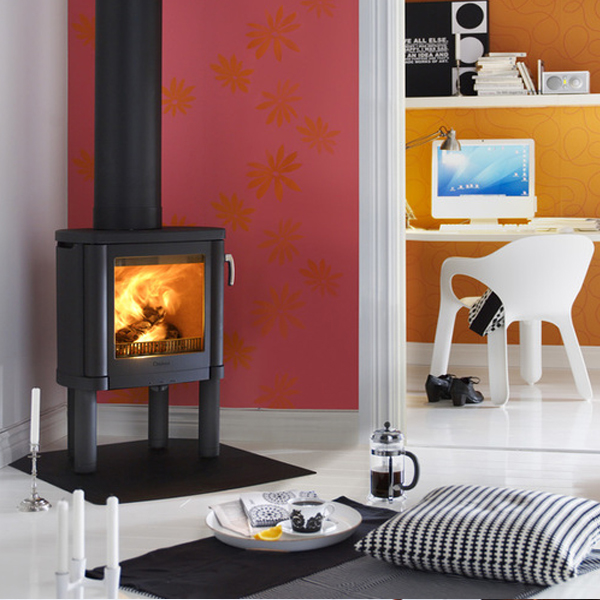 Stove World Product Range - Wood Burning Stoves Glasgow - Contura 53 Black