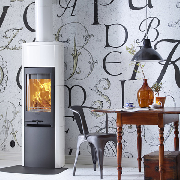 Stove World Product Range - Wood Burning Stoves Glasgow - Contura 790 White