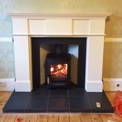 Stove World Glasgow Customer Stove Installations -Stove Installation Glasgow Giffnock