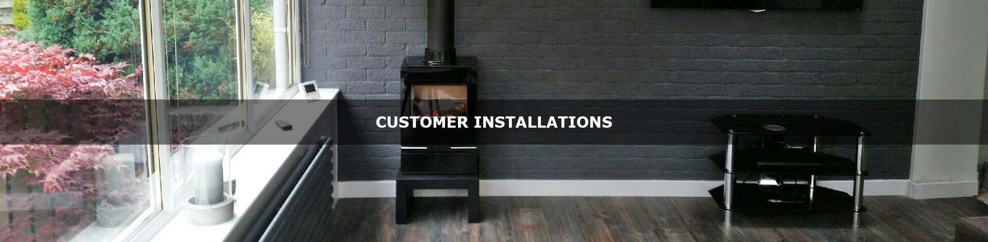 Stove World Glasgow Scotland Customer Installations.
