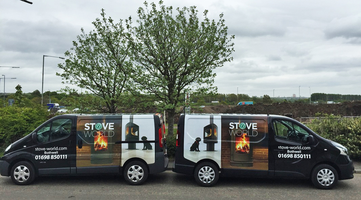 Stove World Delivery Vans
