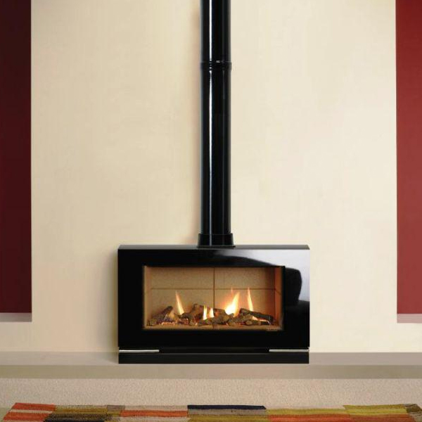 Stove World Product Range - Gas Stoves Glasgow - Gazco Vision Gas Stove