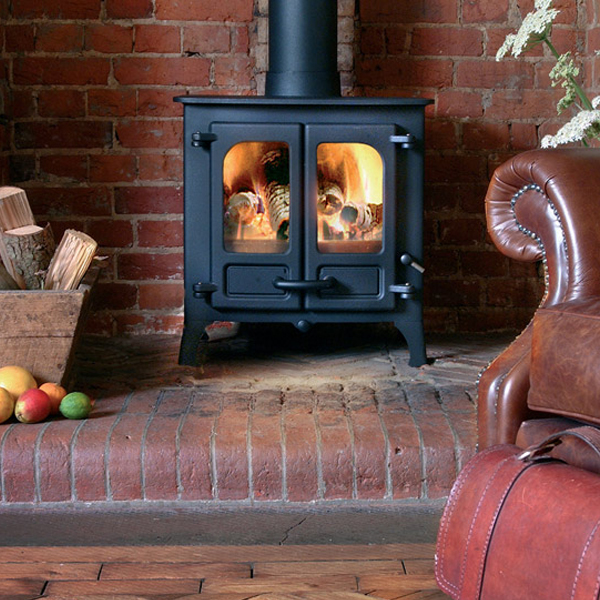 Stove World Product Range - Multi Fuel Stoves Glasgow - Charnwood Island
