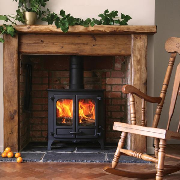 Stove World Product Range - Wood Burning Stoves Glasgow - Charnwood Island