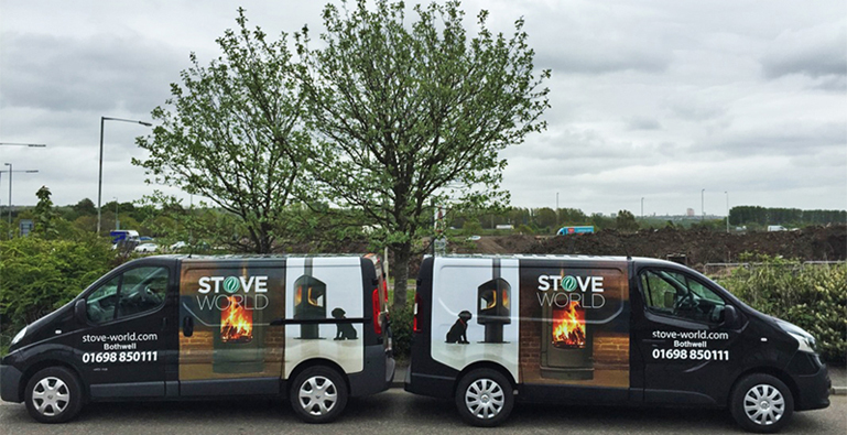 Stove World Delivery Vans Featured