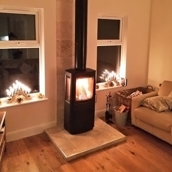 Stove World Glasgow Customer Stove Installations -Stove Installation Glasgow Lenzie 1