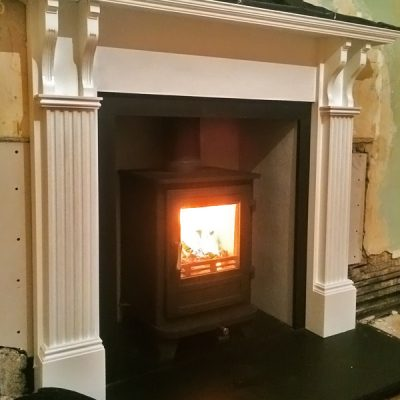 Stove World Glasgow Customer Stove Installations -Stove Installation Glasgow Lenzie