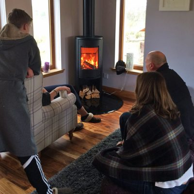 Stove World Glasgow Customer Stove Installations - Stoves Lesmahagow