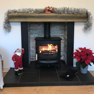 Stove World Glasgow Customer Stove Installations - Charnwood Stove Strathaven Glasgow
