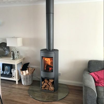 Stove World Glasgow Customer Stove Installations - Contura 5 Series Stove Larkhall