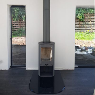 Stove World Glasgow Customer Stove Installations - Contura 8 Series Stoves Hamilton