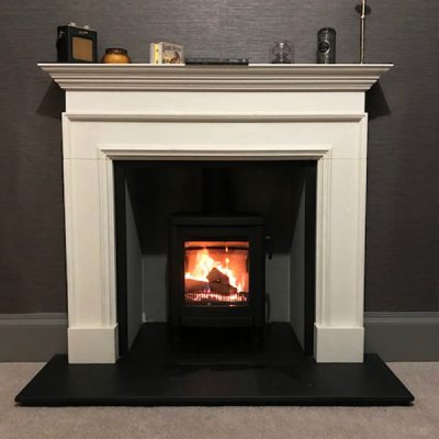 Stove World Glasgow Customer Stove Installations - Contura Stove Besopke Stove Glasgow